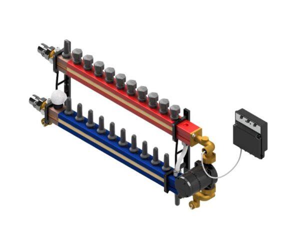 TwinCo-3000-stație-de-distribuire-complet-ansamblată